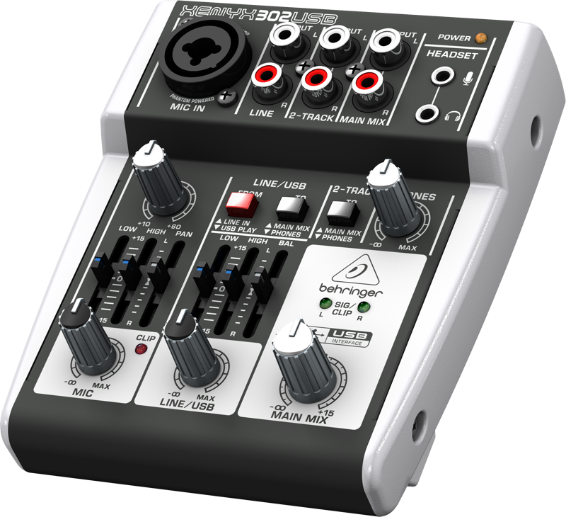 Behringer Audio Mixer XENYX 302USB Price In Pakistan