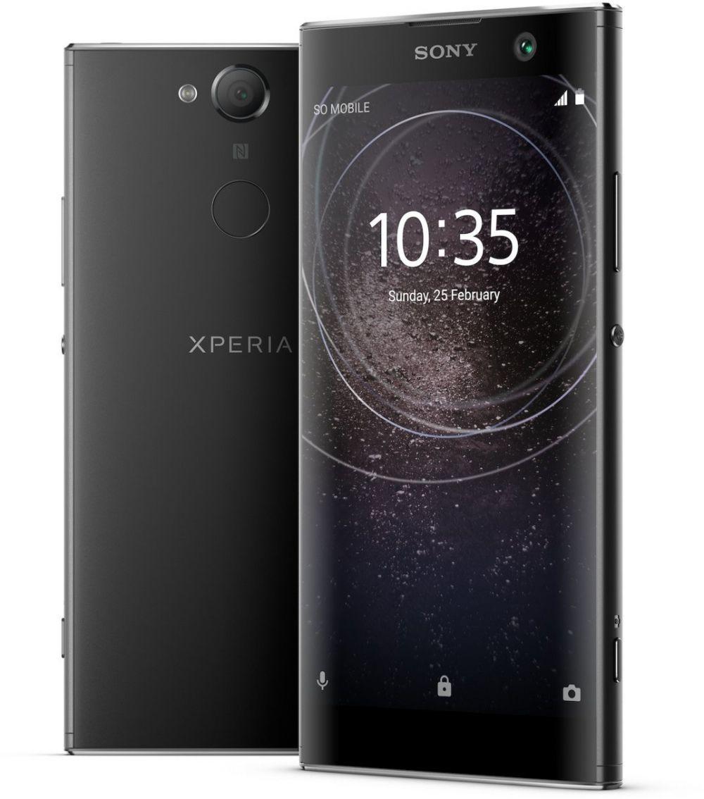Sony Xperia XA2 Dual Sim (4G, 4GB RAM, 32GB ROM, Black)