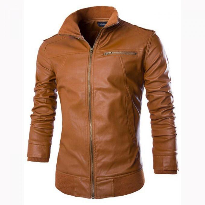d3547f14ed31 Highstreet Leather Jacket B666Mustard3 Price In Pakistan