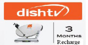 Dish TV SD Renewal For 3 Months Price in Pakistan