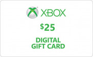 Xbox Digital Gift Card 25 Dollars In Pakistan