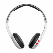 Skullcandy Uproar Wireless Headphones WhiteGrayRed