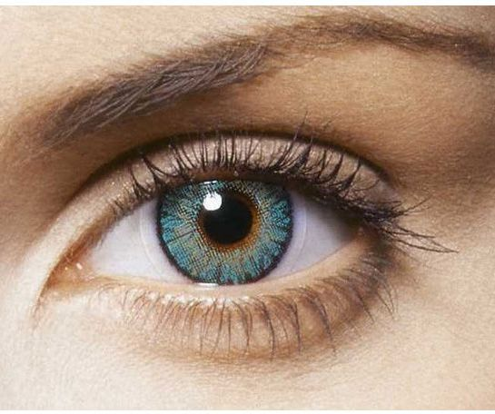 aca26b14015 FreshLook Colorblend Turquoise (-5) Contact Lenses Pair with KIT