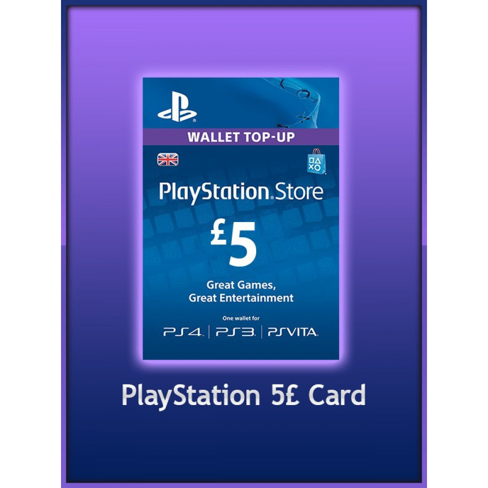 Playstation Gift Card 5 Uk For Price In Pakistan Homeshopping