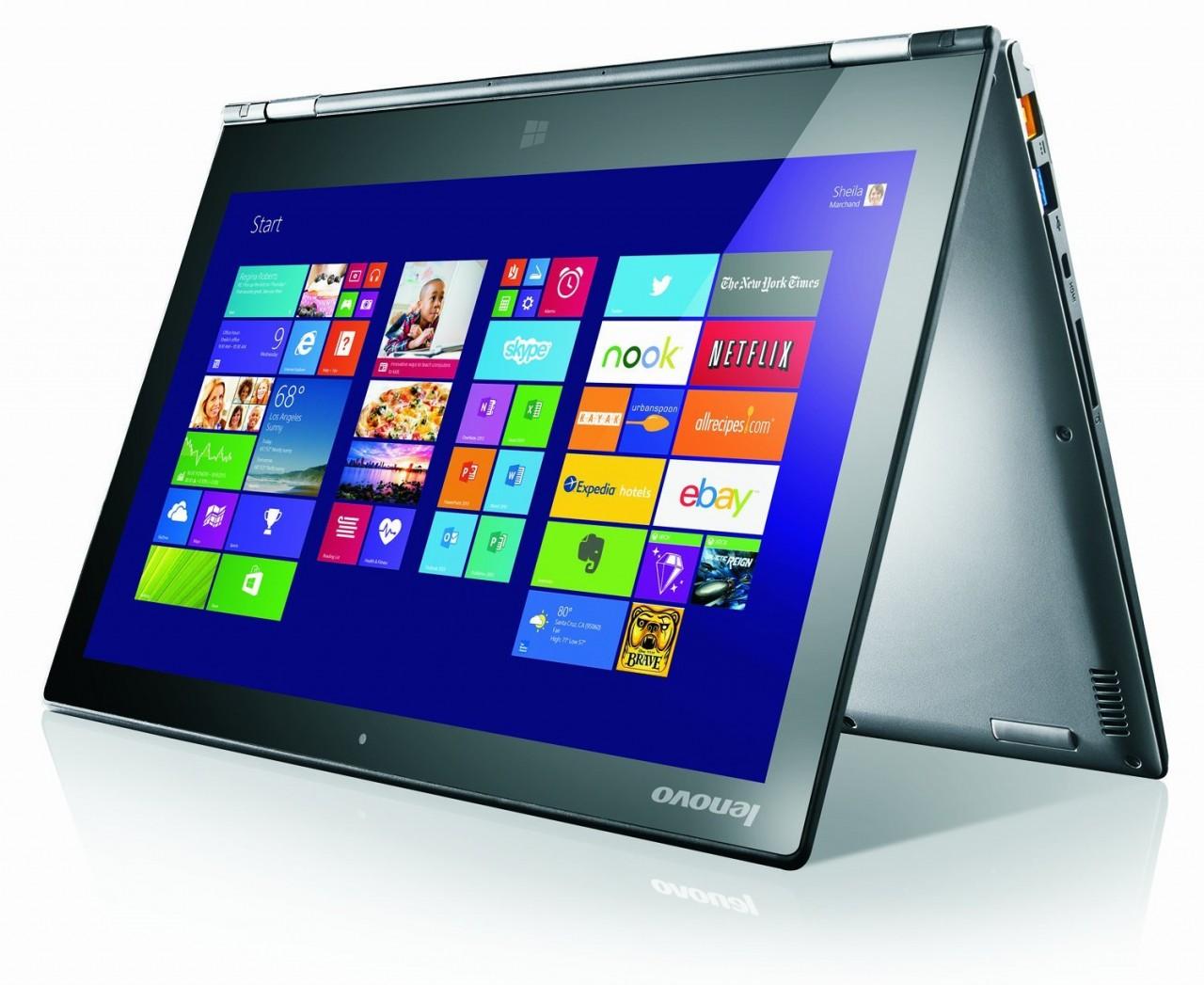 Lenovo Ideapad Yoga 2 Pro Silver Core I5 133 Qhd Touch 256gb Idea Tab B8000 16gb Win 81 Price In Pakistan