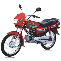 UNITED MOTORCYCLE 100CC EURO II 12 Months Installment in Pakistan