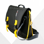 CROWN Laptop Carrier Case Harmony 33 Size 156 CCH3315 Black with Yellow Stripes Price in Pakistan