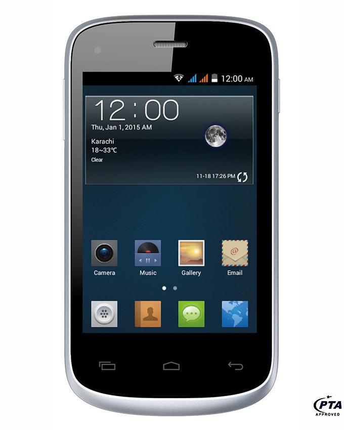 Q mobile x1 noir white price in pakistan homeshopping for Q tablet price in pakistan