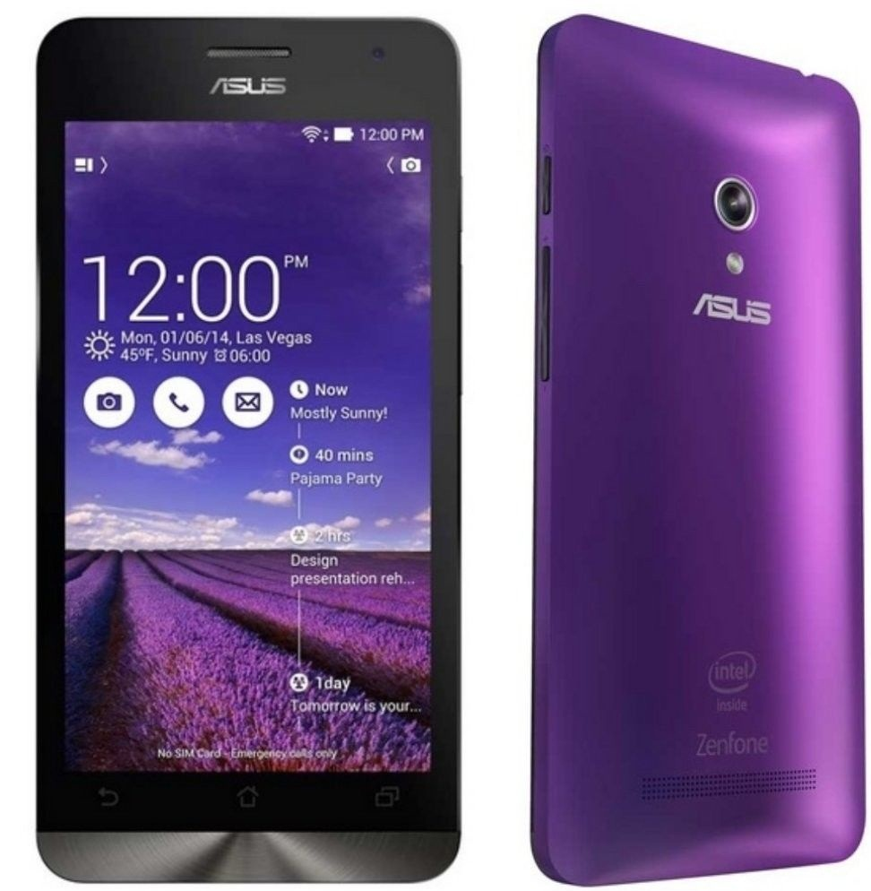 Asus Zenfone 5 - A500KL (4G, 8GB, Purple)