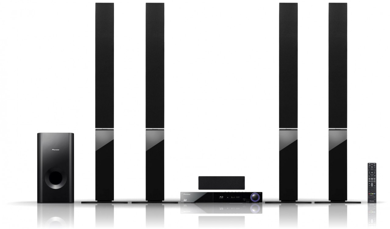 Pioneer BCS-414 5 1 Bluray 3D Home Cinema System in Pakistan