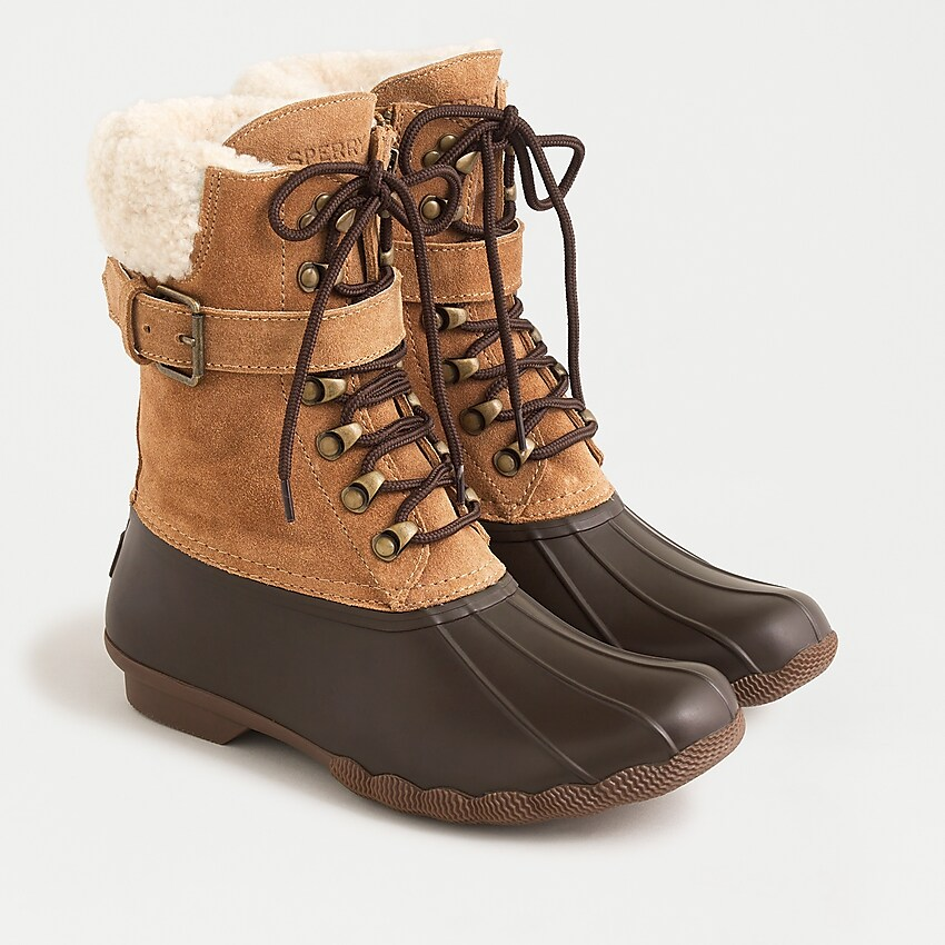 J.Crew Sperry Shearwater Boots With