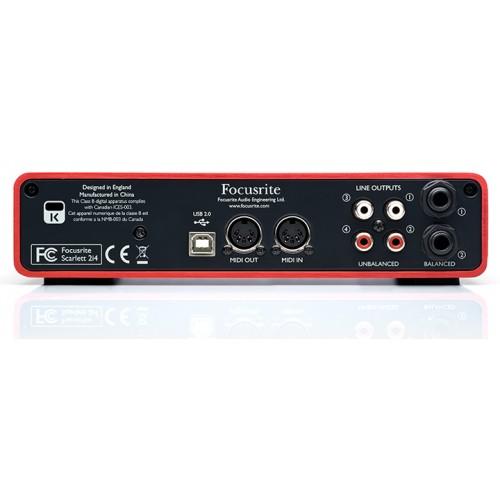 Focusrite Scarlett 2i4 USB Audio Interfaces