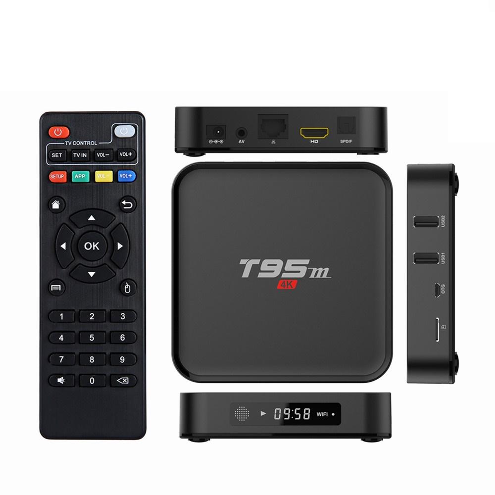 ANDROID SMART TV BOX T95M QUAD CORE 2GB+8GB 6 0