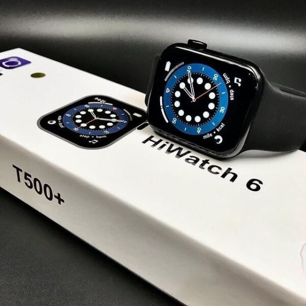 T500 plus pro SmartWatch, APPLE SERIES 6 Clone, Full SCREEN Display 44MM - Home Shopping Pakistan