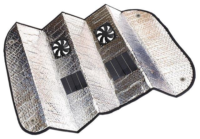 Solar Car Fan Review
