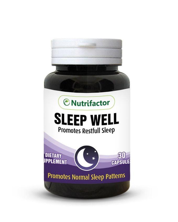 Nutrifactor Sleep Well 30 Caps SW Price In Pakistan
