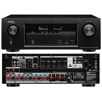 Denon AVR-X1200 7 2 Channel Full 4K Ultra HD A/V Receiver with Bluetooth  and Wi-Fi