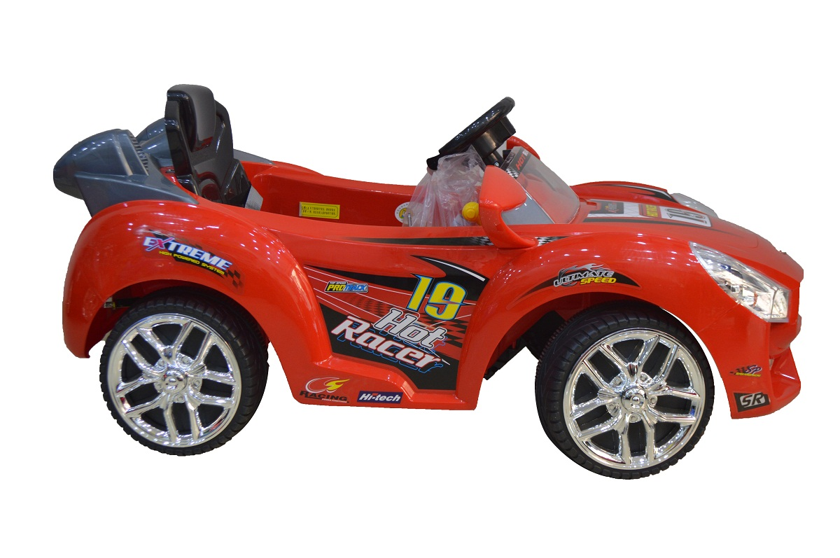 red hot racer kids battery power ride on car mp3 and rc r. Black Bedroom Furniture Sets. Home Design Ideas