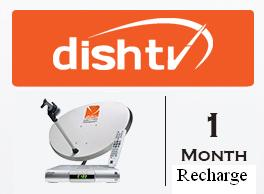 Dish TV SD Renewal For 1 Month Price in Pakistan