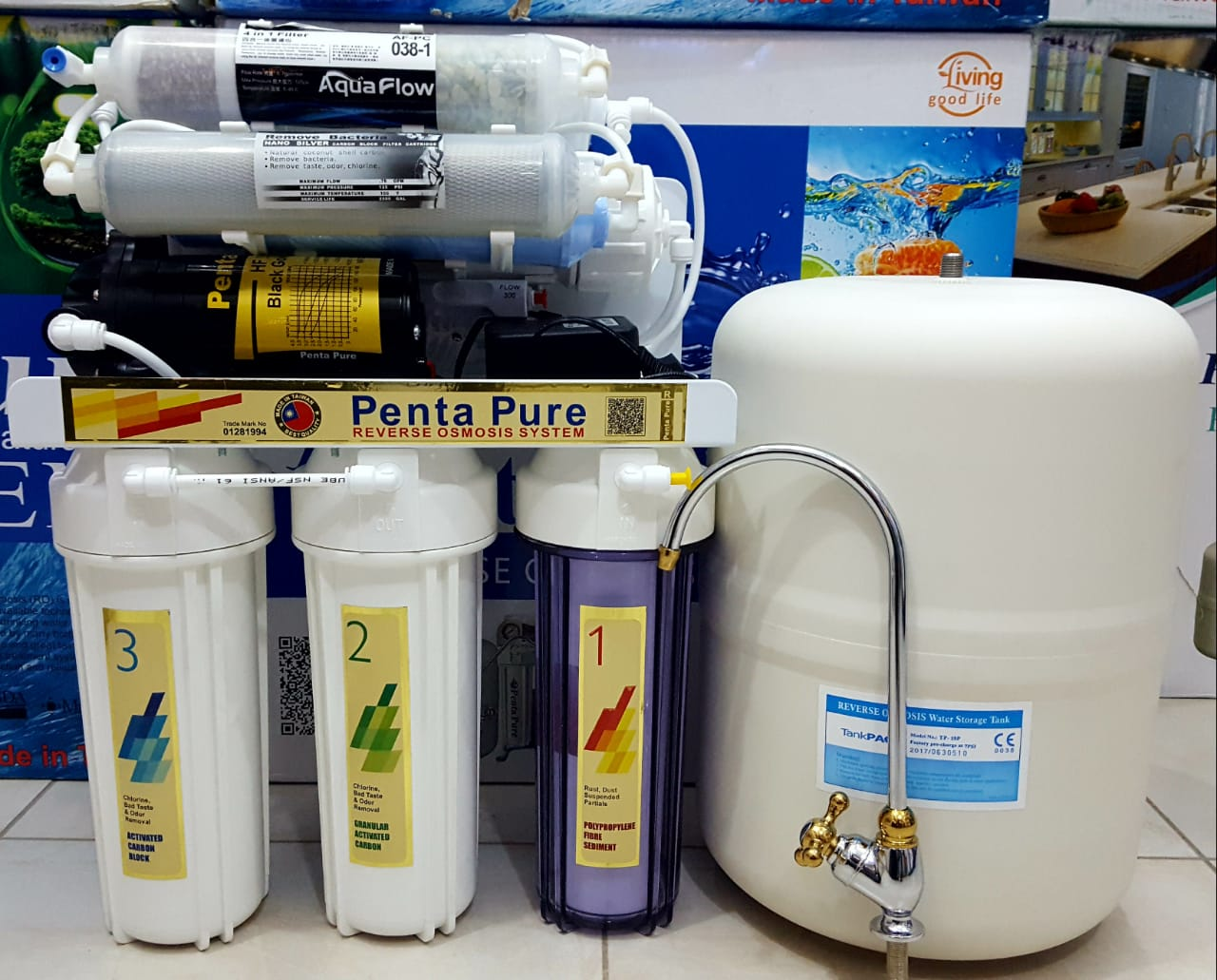 Penta Pure PP-7RO 7 Stage RO Water Filter Price in Pakistan