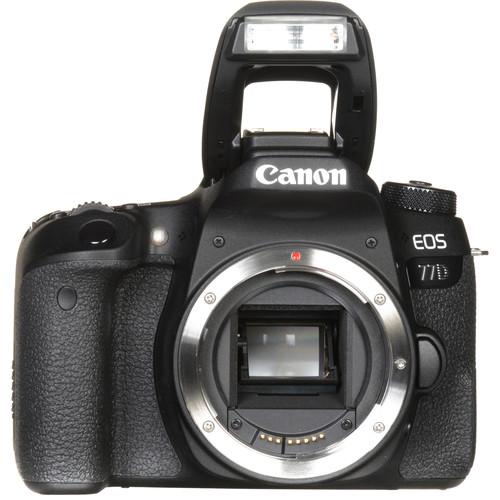 canon eos 77d dslr camera with 18 55 kit lens. Black Bedroom Furniture Sets. Home Design Ideas