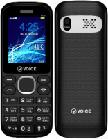 Voice V120 Dual Sim Black Price in Pakistan
