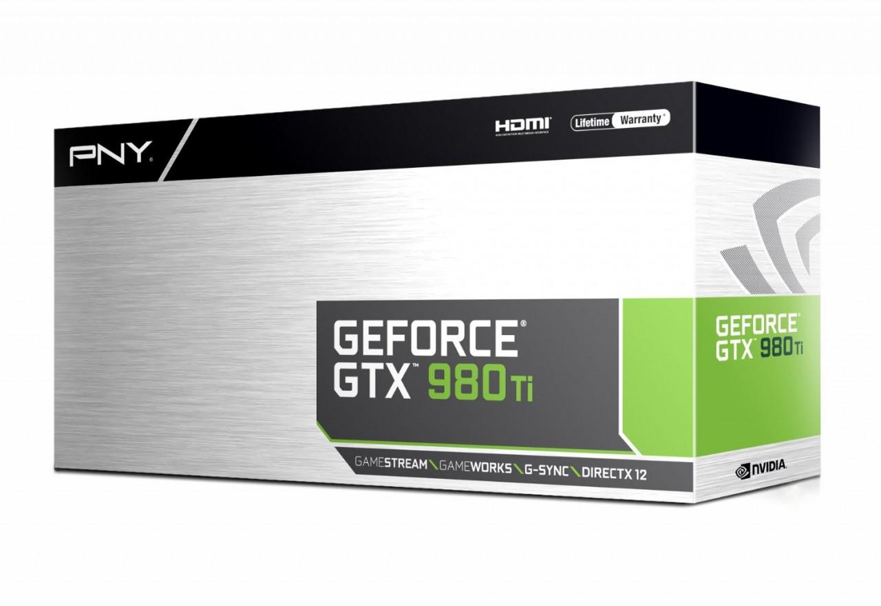 PNY GeForce GTX 980 Ti 6GB Graphics Card VCGGTX980T6XPB-CG