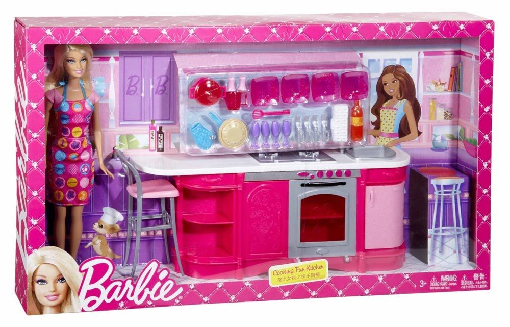 Barbie Cooking Fun Kitchen Price In Pakistan Homeshopping
