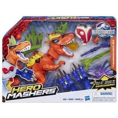 Image result for Hasbro Jurassic World Hero Mashers Trex Dino