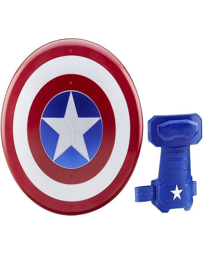 Captain America: Magnetic Shield & Gauntlet Blue