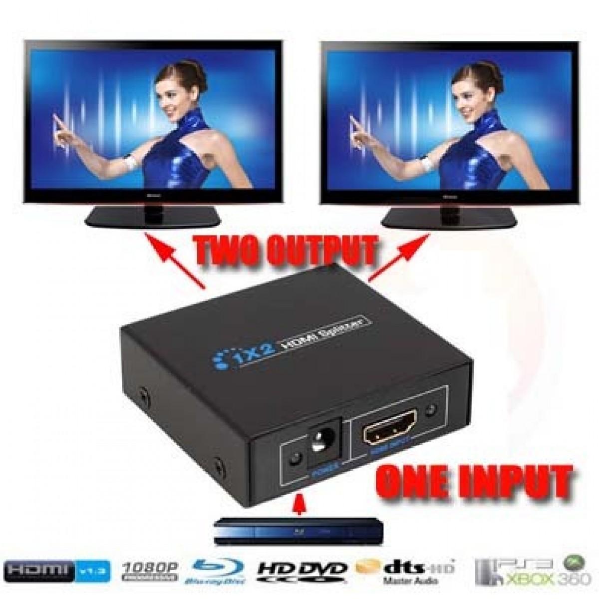 HDMI Splitter 2 Port 3D