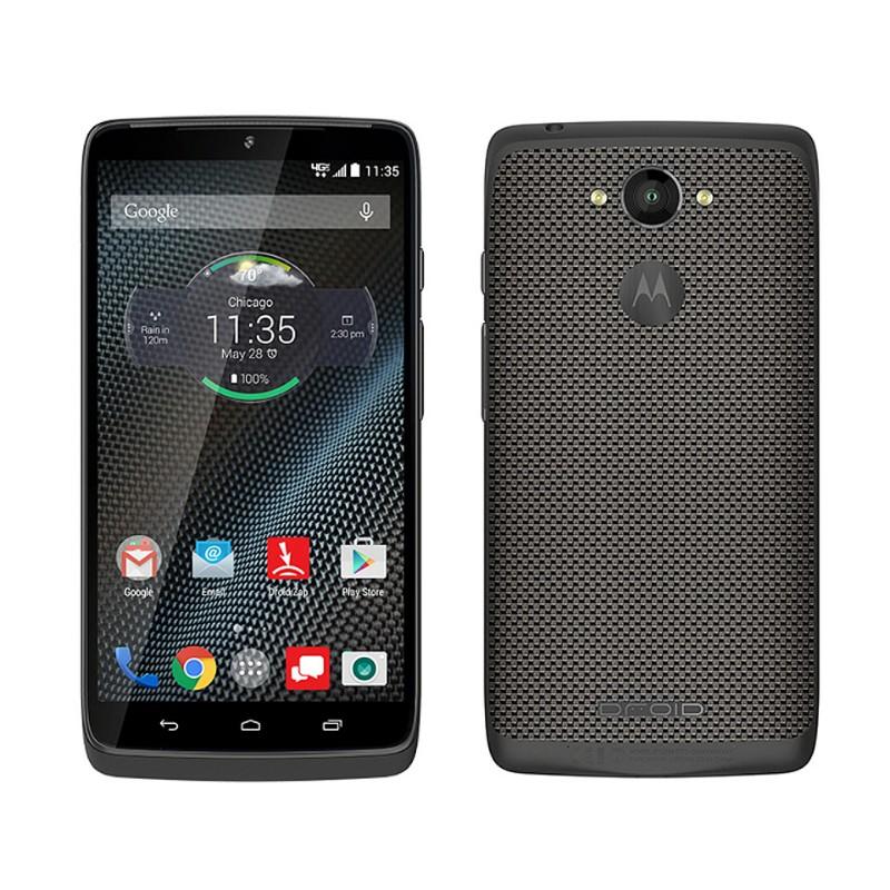 premium selection f3326 9cddd Motorola Droid Turbo Verizon (4G, 32GB ROM, 3GB RAM, Black Ballistic-Nylon)  American Used