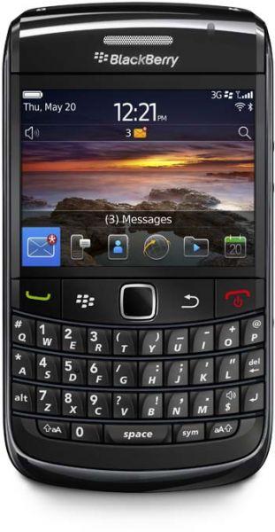 Blackberry Bold 3 (512MB RAM,256MB ROM,Black) American Stock