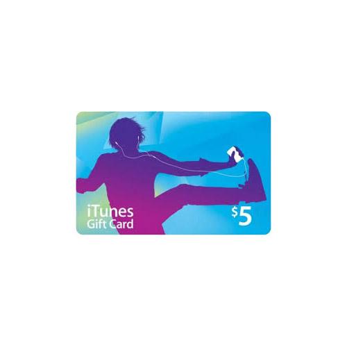 Apple iTunes $5 Gift Card - US Region