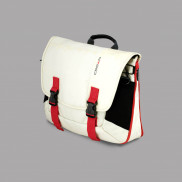 CROWN Laptop Carrier Case Harmony 33 Size 156 CCH3315 White with Red Stripes Price in Pakistan