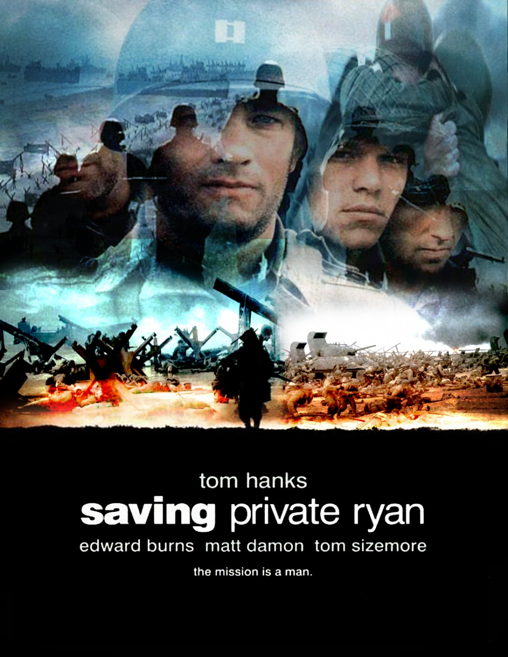 a review of the film saving private ryan The truly in depth extras start to appear with the 22 minute making saving private ryan this covers much of the background to the making of the film, with very little epk material - providing much interesting insight.