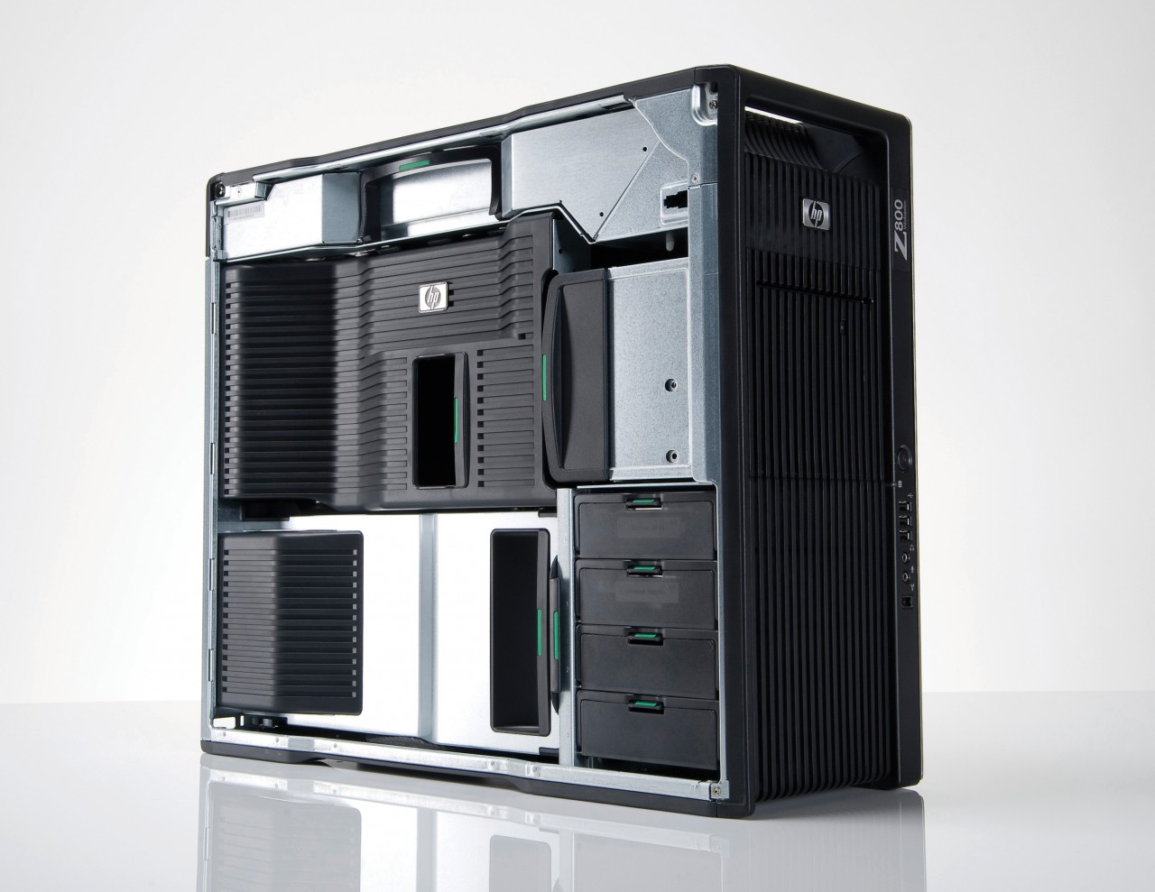 HP Z800 Workstation - Dual Xeon E5650 8GB 500GB NVIDIA Quadro FX 5600 Dual  LAN