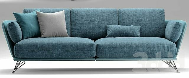Arketipo 3 Seater Sofa Blue Price In Pakistan Home Sh