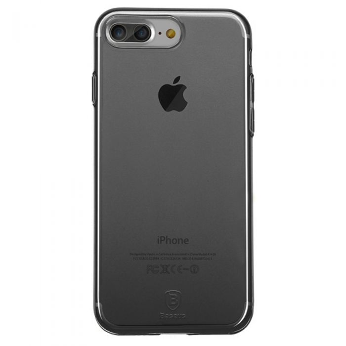 Baseus Iphone X Cover Simple Series Transparent Black [ARAPIPHX-A01] Pakistan Brandtech.pk