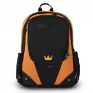 CROWN Laptop Backpack Vigorous X01 SIZE 17 BPV117 Black And Orange Price in Pakistan
