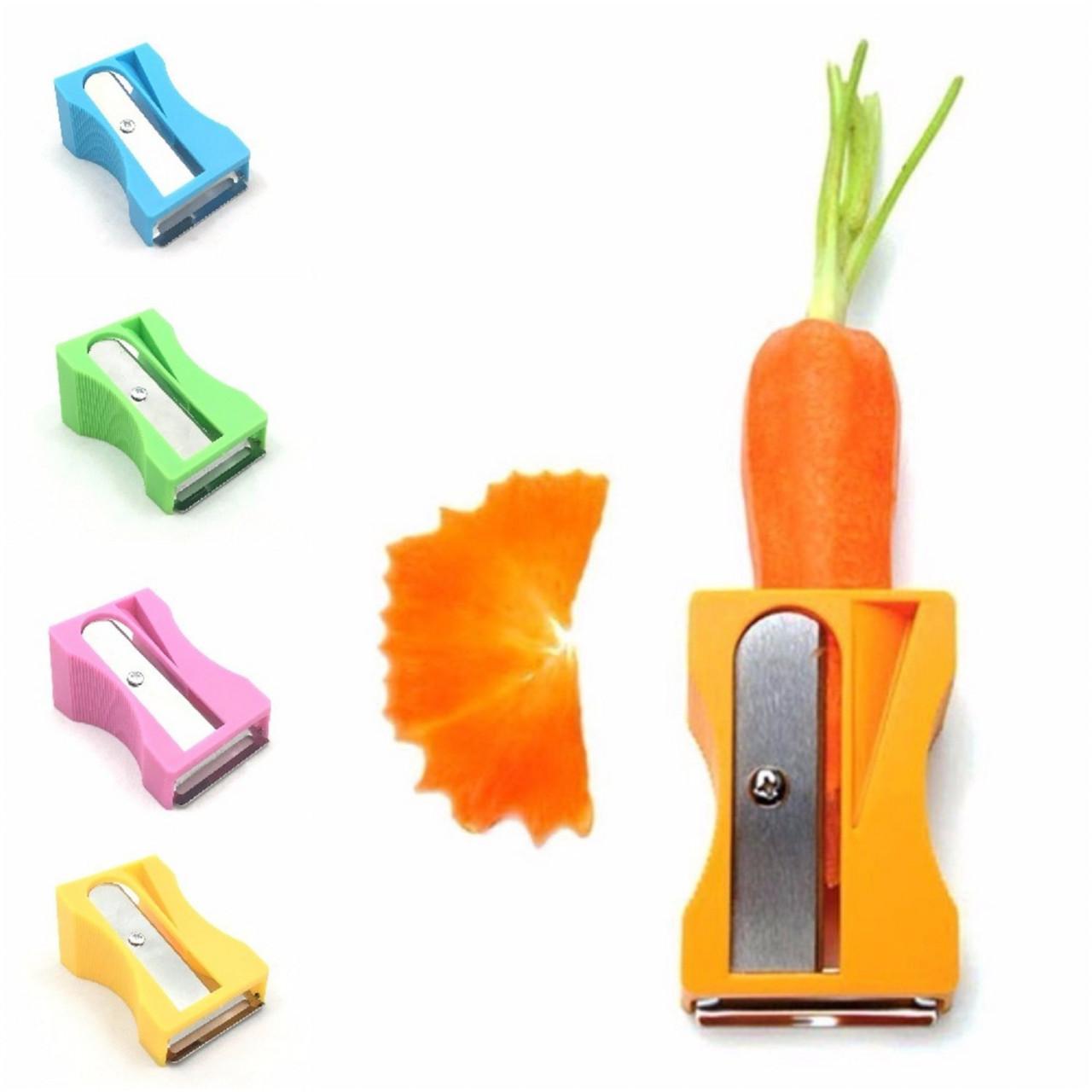 Oddity Carrot Cucumber Sharpener Peeler Vegetable Fruit Curl Slicer