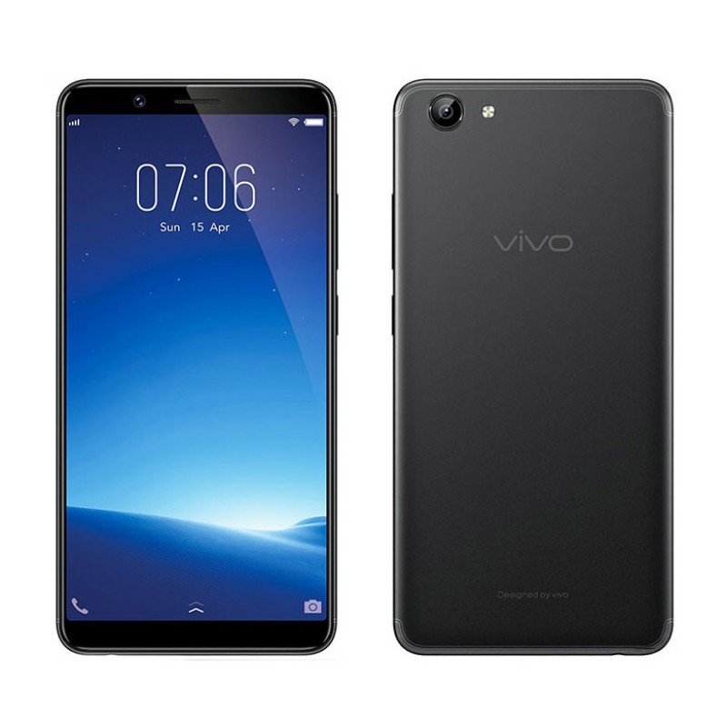 Vivo Y71 Dual Sim (4G, 2GB RAM, 16GB ROM, Black) Official Warranty