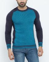 Fifth Avenue Navy Blue Cotton Sweater For Men in Pakistan