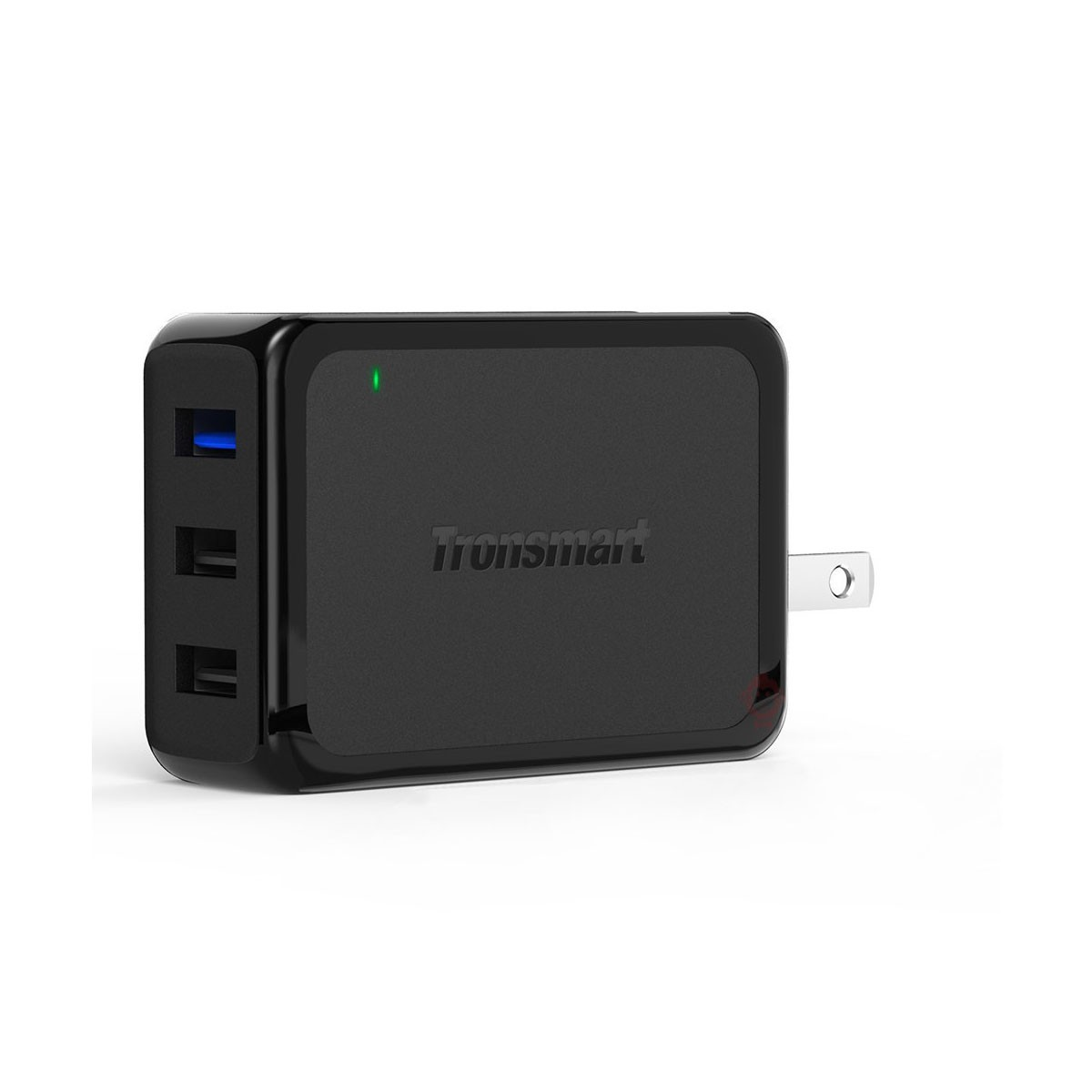 Tronsmart W3pta Qc 30 Voltiq Charger Home Shopping Quick Charge 42w 3 Port Qualcomm Certified Dockstronsmart 3port Rapid Wall Image