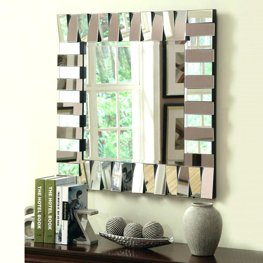 Sydney Square Wall Mirror Silver Price In Pakistan Home