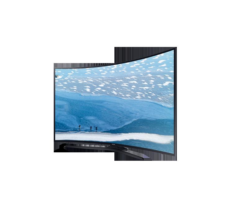 samsung 55 55ku7350 curved uhd 4k smart led tv. Black Bedroom Furniture Sets. Home Design Ideas