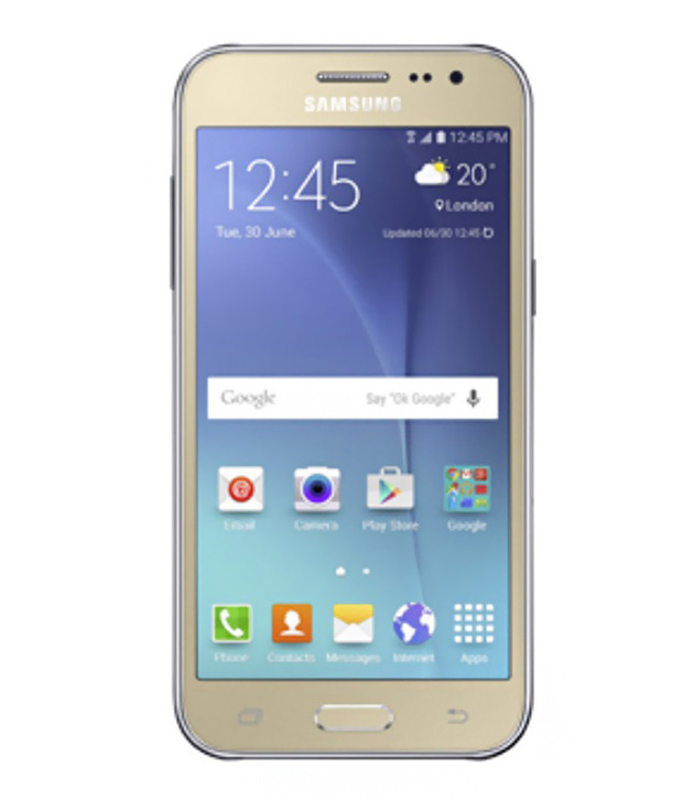 Samsung Galaxy J2- J200 Dual Sim (4G - 4GB) Gold