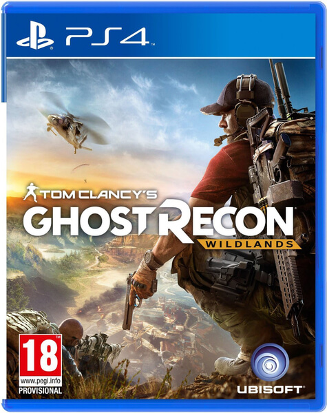 Tom clancy s ghost recon wildlands ps4 home shopping