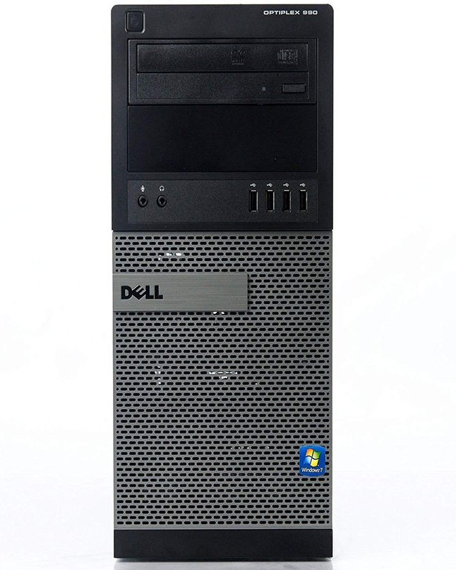 Dell OptiPlex 990 MT Desktop Quad Core i5-2400 3 10GHz 8GB RAM 320GB HD