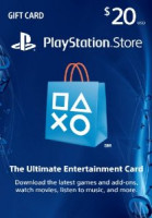 Sony Playstation Store Gift Card 20 Dollars For USA Region Price In Pakistan